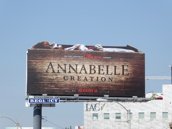 Annabelle Creation movie billboard