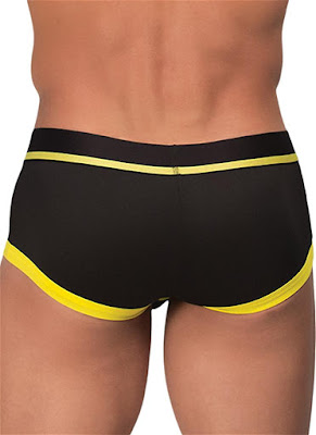 Rounderbum Mini Trunk Sport Underwear Yellow Back Detail Gayrado Online Shop