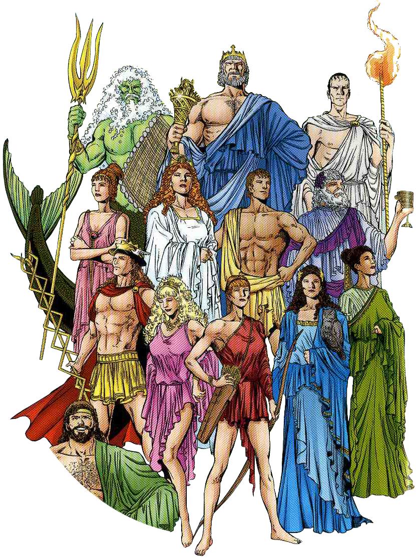 Bus L Teacher Resources: Some 5th Grade Greek Mythology ...