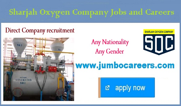 Direct free recruitment jobs in Sharjah, Sharjah jobs for Indians,