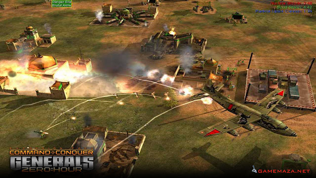 Command & Conquer Generals Zero Hour Gameplay Screenshot 2