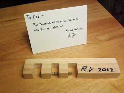 Motivations Text an Vater vom Sohn - Spass