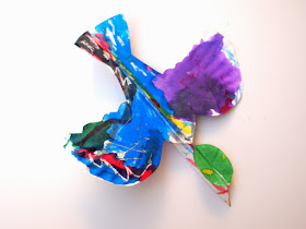 Paper plate bird craft- Beautiful art activity to do with kids of all ages