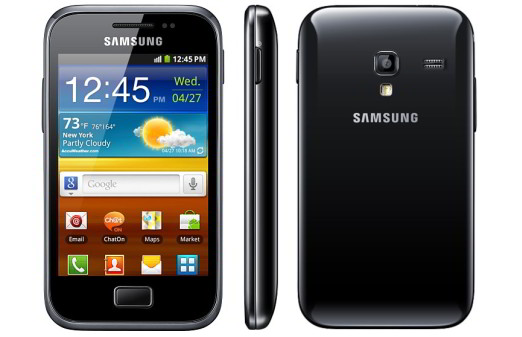 gamasung galaxy ace plus with 1ghz processor / ram