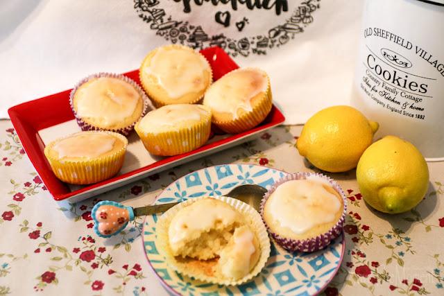 Zitronen Muffins mit Jogurt, Rezept