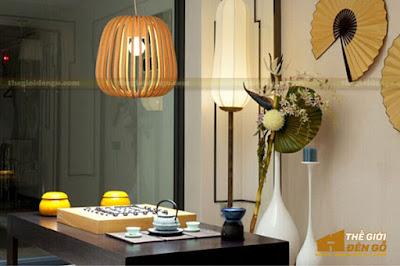 Thế Giới Đèn Gỗ - Những mẫu đèn trang trí quán cafe tuyệt đẹp 8