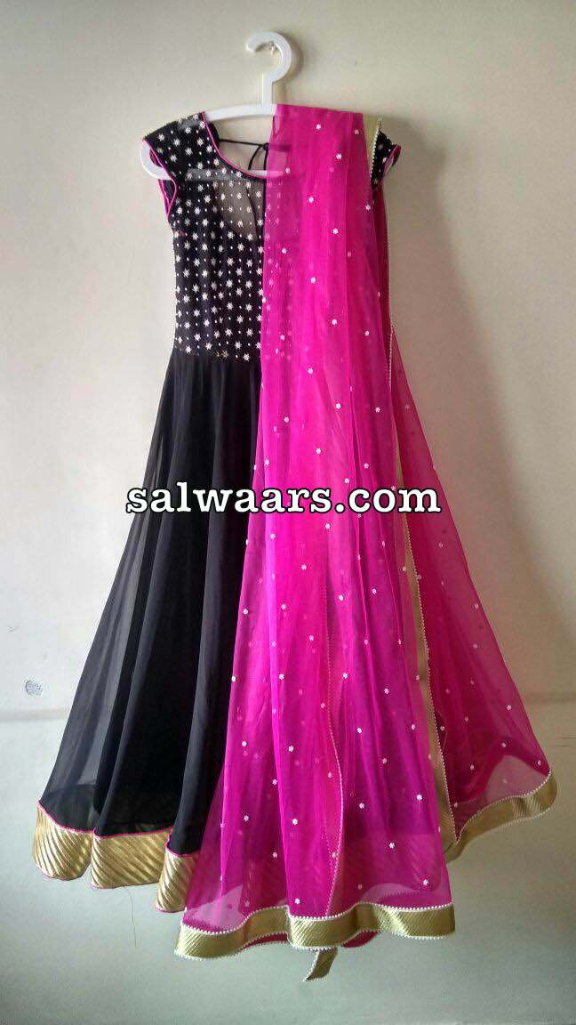 Black Pearls Salwar