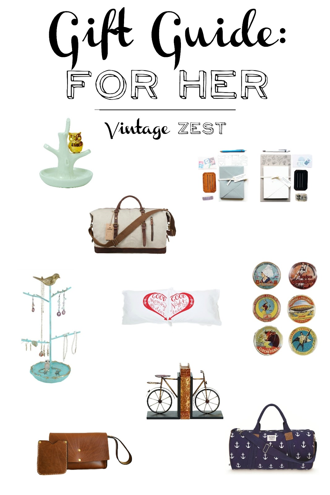 Gift Guide For Her on Diane's Vintage Zest!
