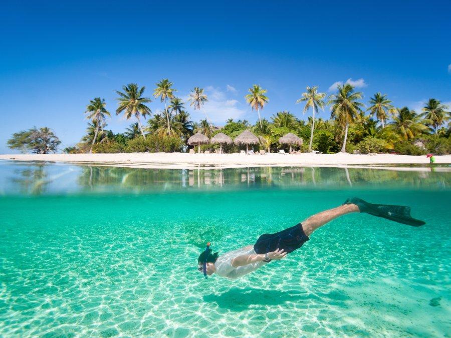 Holiday destinations matira beach bora bora tahiti for Best vacation destinations in the south