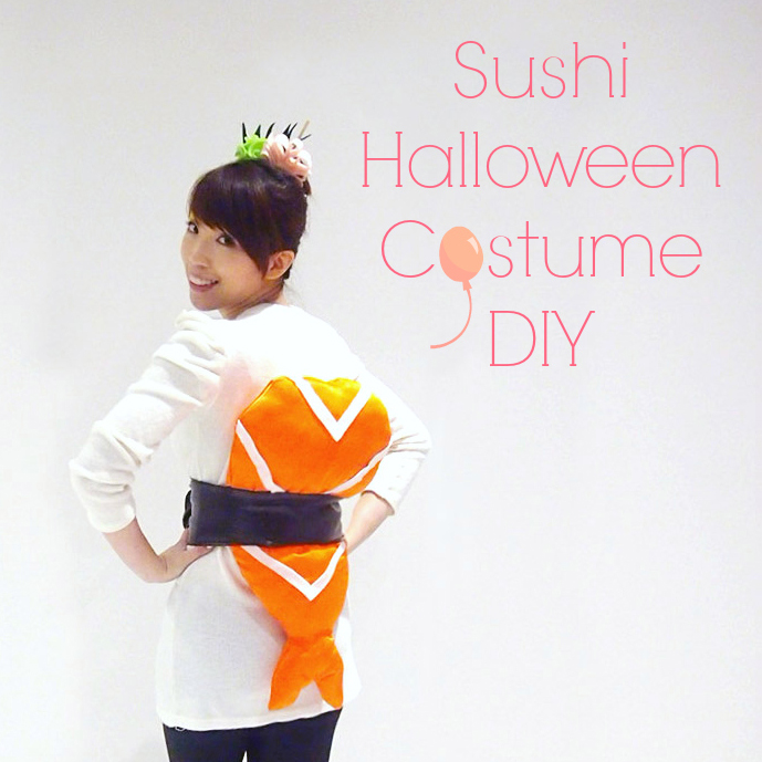 Sushi Halloween Costume DIY