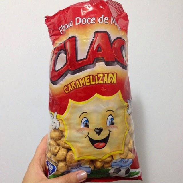 pipoca%2Bcaramelizada Pipoca Doce de Milho Caramelizada - Clac