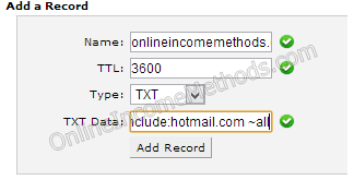 Configure Server Trust Records for Outlook at DNS Level at HostGator