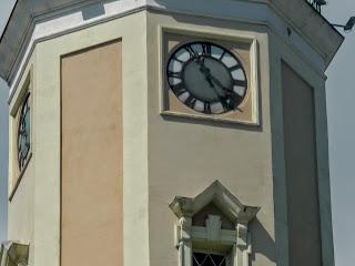 Дрогобич. Годинникова вежа і куранти