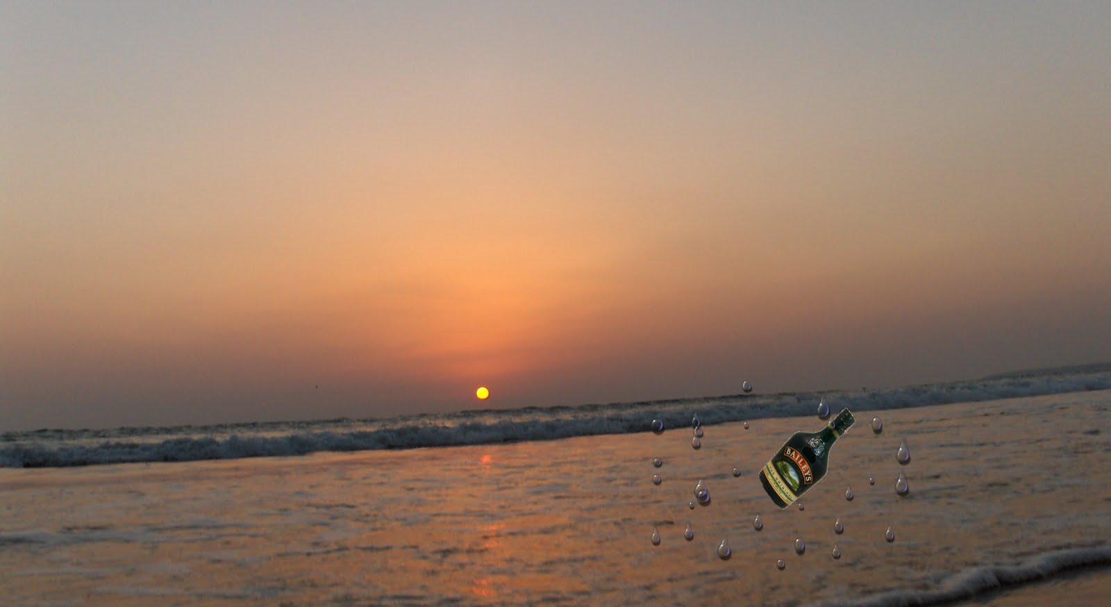 Saudades lançadas ao mar numa garrafa de Baileys …