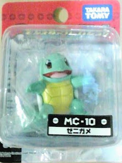 Squirtle  figure Takara Tomy Monster Collection MC series