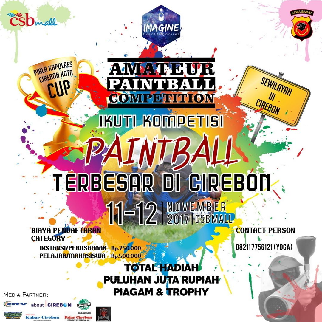 Amateur Paintball Competition 2017 di Cirebon
