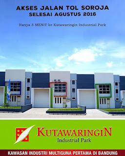 Jual Gudang Kutawaringin Bandung