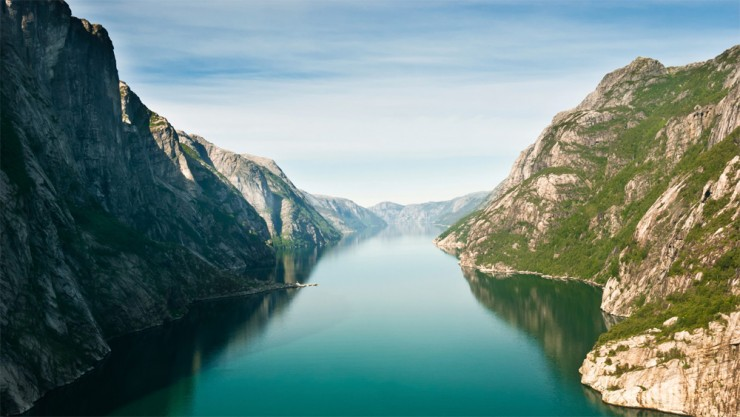 1. Lysefjorden, Norway - Top 10 Beautiful Fjords Around the Earth