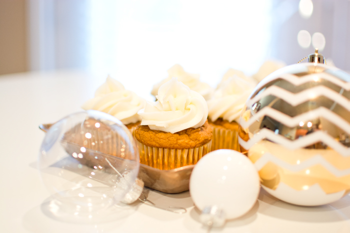 Thanksgiving dessert recipe pumpkin spice cupcakes