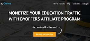 √ ByOffers Review | Education Traffic Affiliate Program and Payment Proof - Ad Network