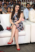 Kyra Dutta in a Deep neck Small Dress at Shamanthakamani pre release function ~  Exclusive 028.JPG