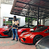 Dino Melaye Shows OFF Almost 20 Cars In His Garage