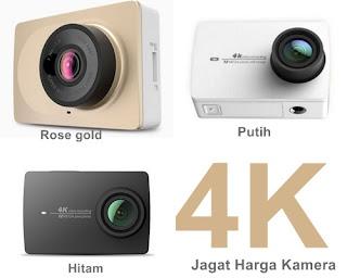 spesifikasi  Xiaomi Yi 4K - Harga kamera Xiaomi Yi 4K - warna  Xiaomi Yi 4K
