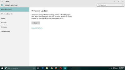 How to Solve Windows Update Error 0x80070422 in Windows 10