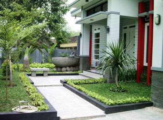 Desain Taman Minimalis Depan Rumah Type 36