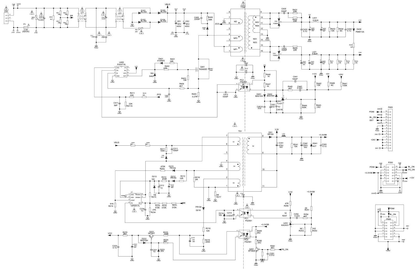 Beautiful Frontech Smps Circuit Diagram Ideas - Electrical and ...