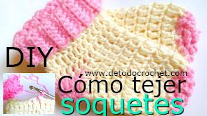 Cómo tejer soquetes ~ calcetines crochet / DIY