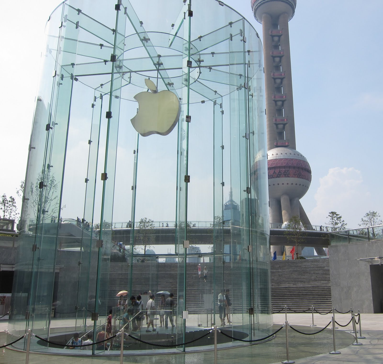 Fa 231 Ade Engineering Blog Apple Store In Shanghai And How