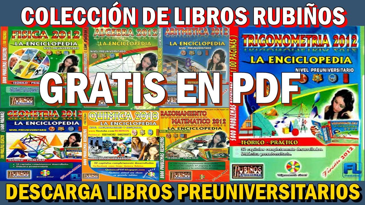 DESCARGA GRATIS LA COLECCIÓN DE LIBROS RUBIÑOS