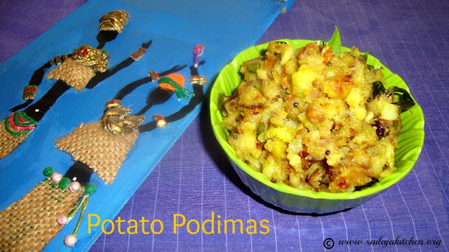 images of Potato Podimas Recipe / Urulai Podimas Recipe