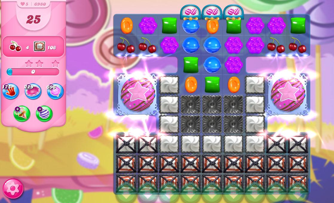 Candy Crush Saga level 6980
