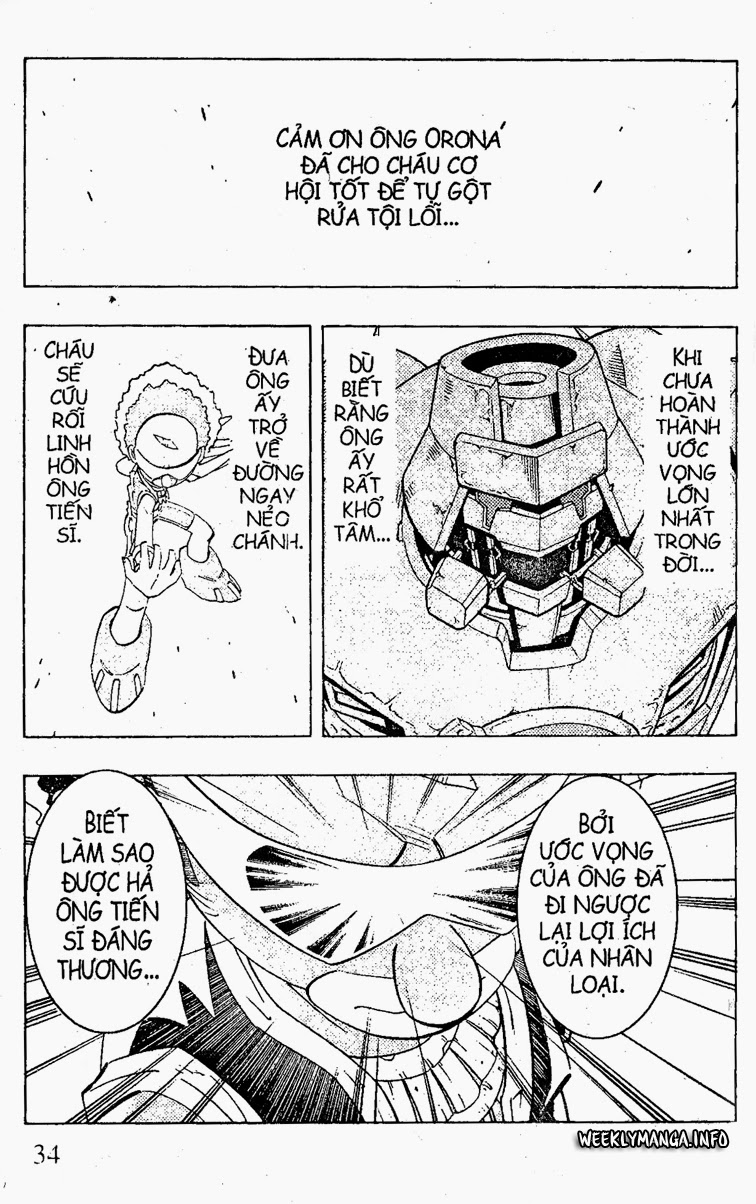Shaman King [Vua pháp thuật] chap 205 trang 16