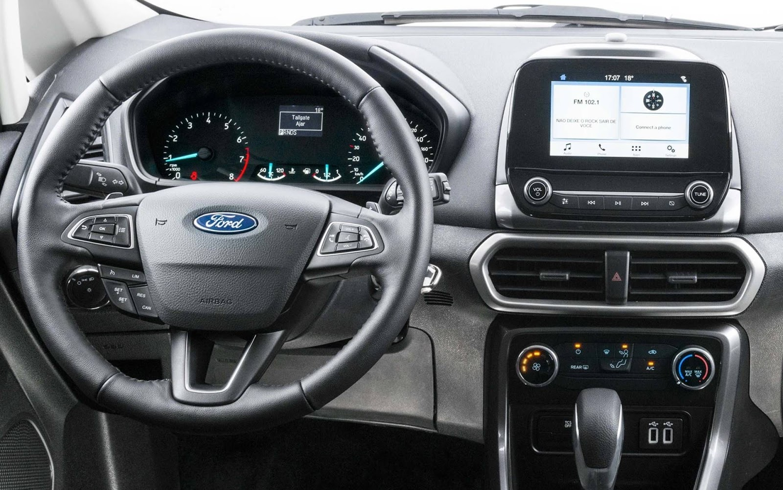 ford ecosport 2018 sistema multim dia agora roda o waze car blog br. Black Bedroom Furniture Sets. Home Design Ideas