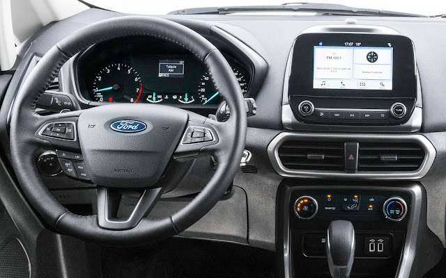 Ford EcoSport 2018 SE - interior - painel - central de 6,5""
