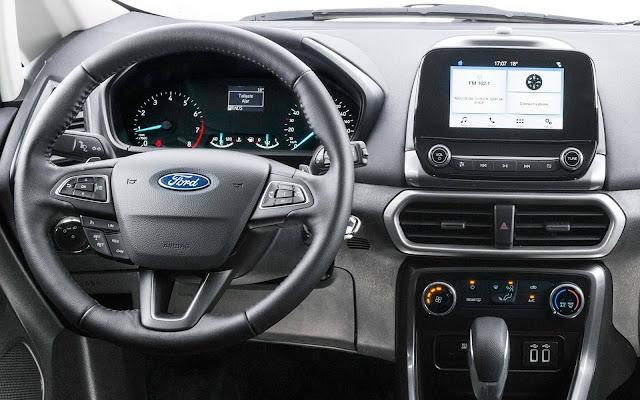"Ford EcoSport 2018 SE - interior - painel - central de 6,5"""