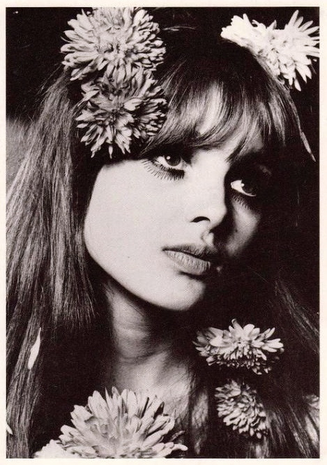 Actress Maddie Smith Biba model Flower Power 1960s
