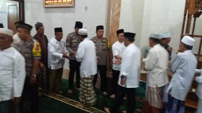 AKBP Ikhwan Libis SH.MH Safari Subuh di Mesjid Al-Mukhlisin