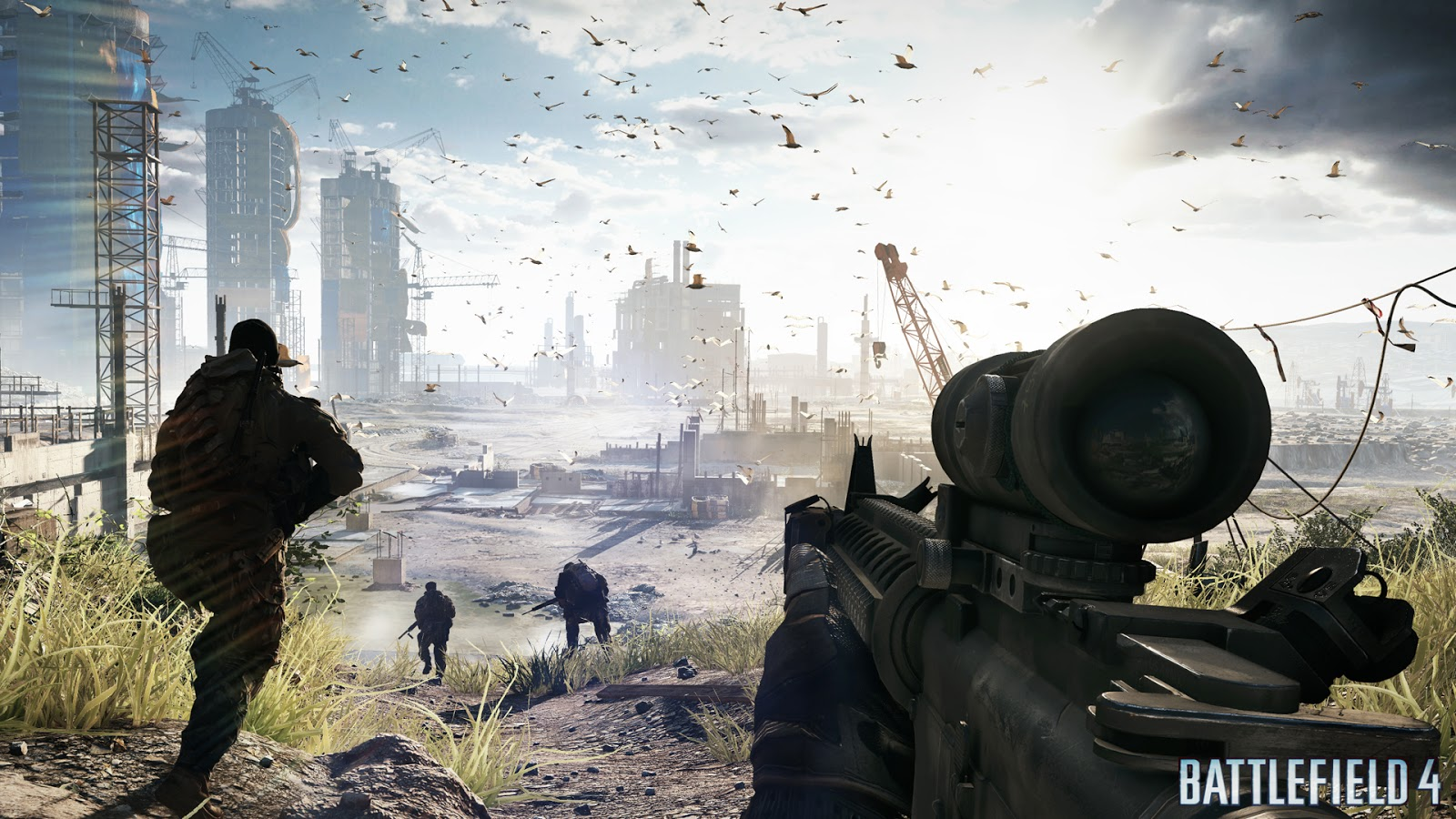 Battlefield 4-RELOADED Full PC Game Download Highly Compressed (52 9