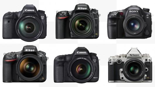 كاميرات DSLR للمبتدئين