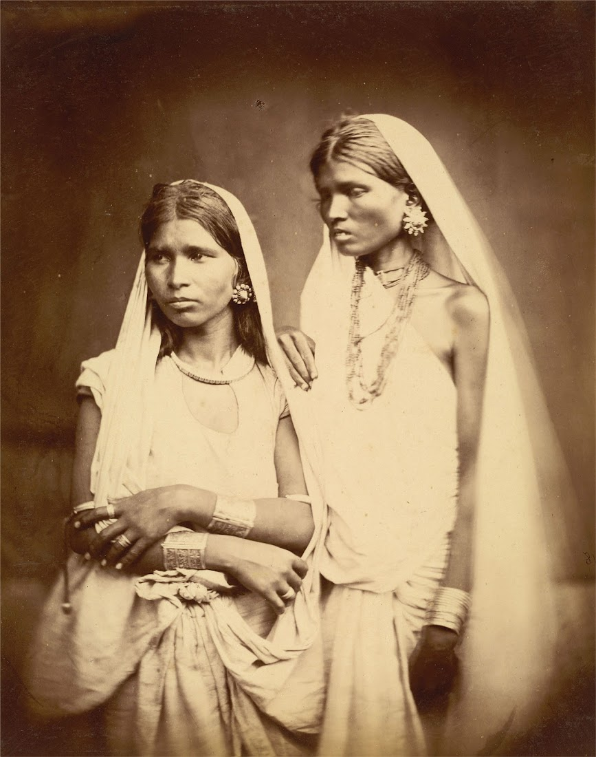 Portrait of Two Women - Eastern Bengal 1860's
