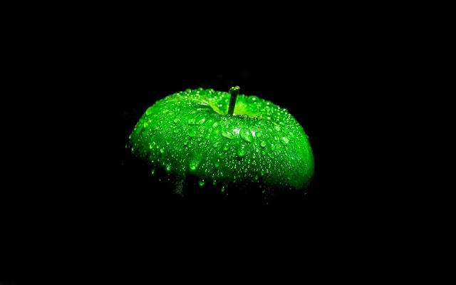 buah apel hijau