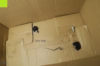 Verpackung innen: Defort DEP-900-R Elektrohobel 900 W, Falzfunktion, Spanauswurfsystem