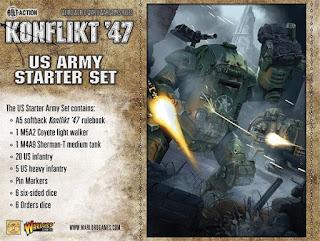 Konflikt 47 - US Starter Set