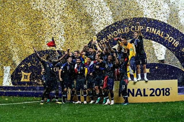 2018FIFAワールドカップ ロシア 決勝戦 フランス対クロアチア