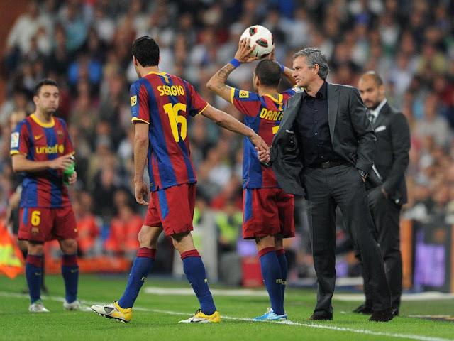 Mourinho Bakal Blak-blakan Soal Kegagalan Melatih Barcelona di 2008