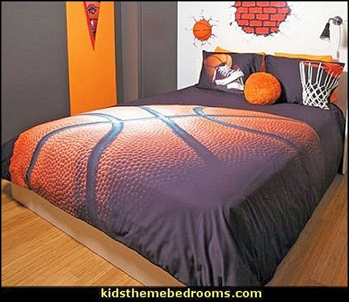 basketball themed bedrooms basketball bedroom ideas - Basketball Decor - basketball wall murals - basketball bedding - basketball wall decal stickers - basketball themed bedrooms - basketball bedroom furniture - basketball wall decorations - Basketball wall art - Basketball themed rooms - basketball bedroom furniture - NBA bedding - Boys basketball theme